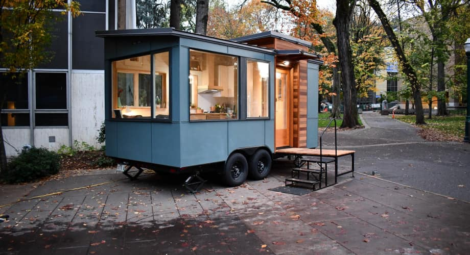 Small Modern Tiny House On Wheels Tiny House For Sale In