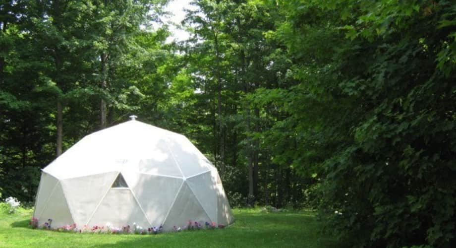 20 Ft Dia Geodesic Dome Tiny House For Sale In Traverse City