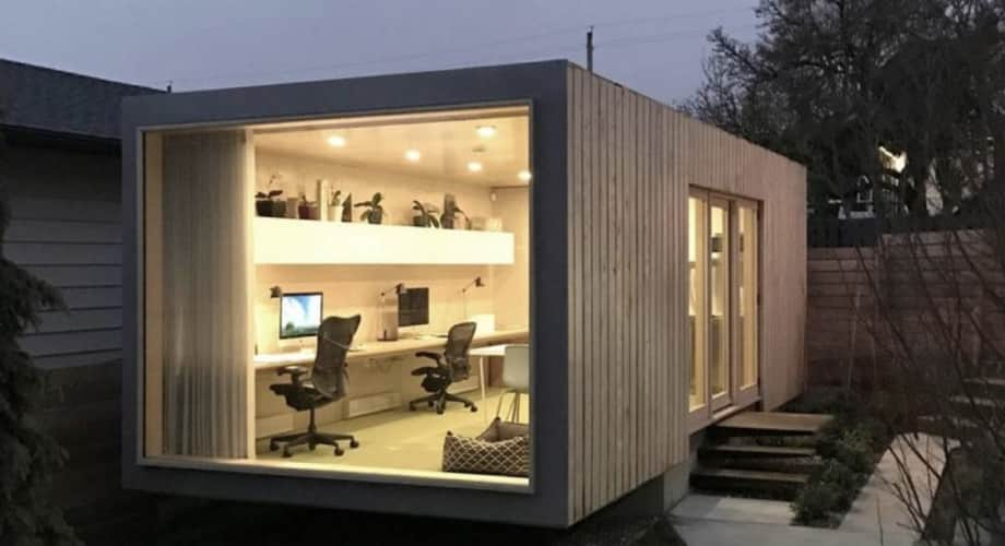 20ft Container Tiny Home Gym Storage Office Art Studio