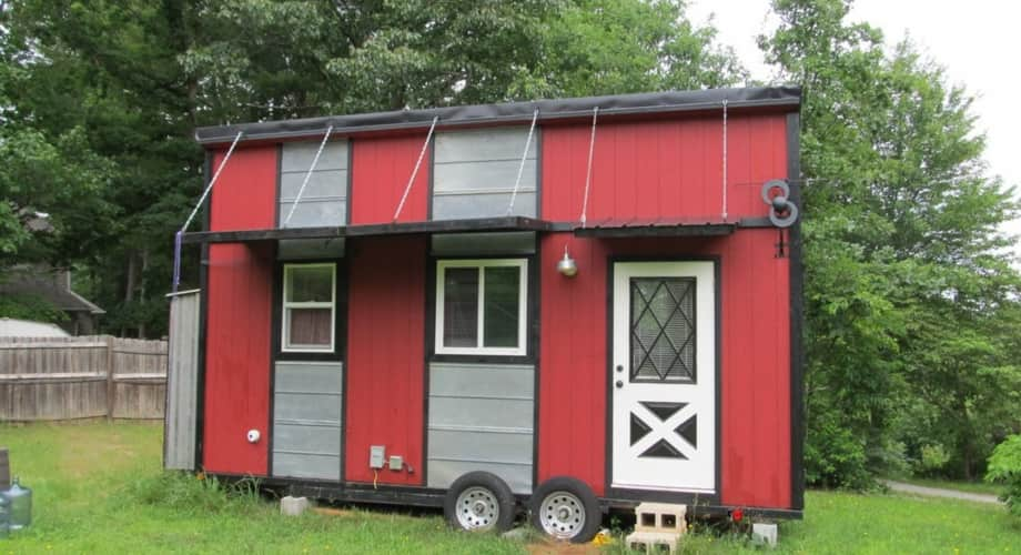 Tn Tiny House In Asheville Nc Tiny House For Sale In Asheville