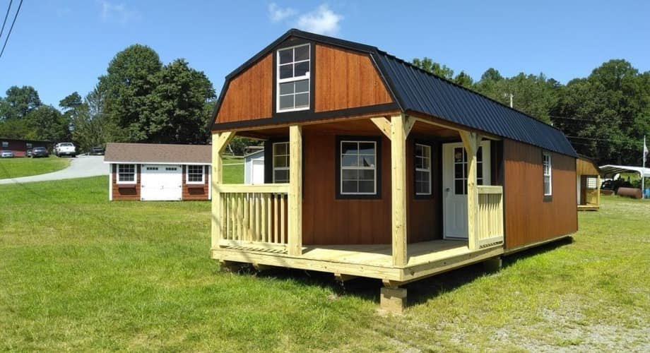 12 by 32 lofted barn cabin cabin for sale in commerce georgia tiny house listings. Black Bedroom Furniture Sets. Home Design Ideas