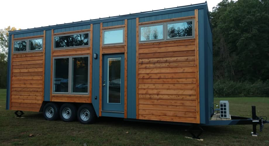 Modern Blue Heron Tiny House For Sale In Evansville
