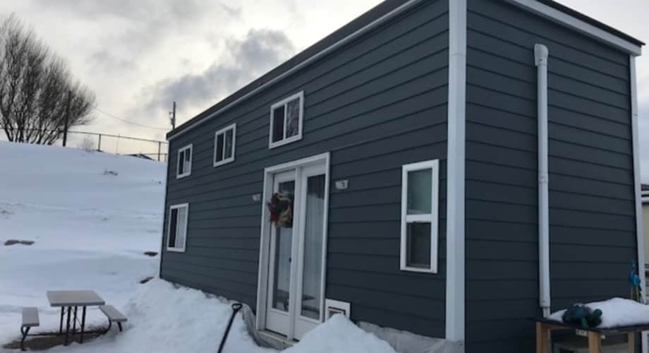 28 Ft Rvia Blue Tiny House Live In Ready Tiny House For Sale In