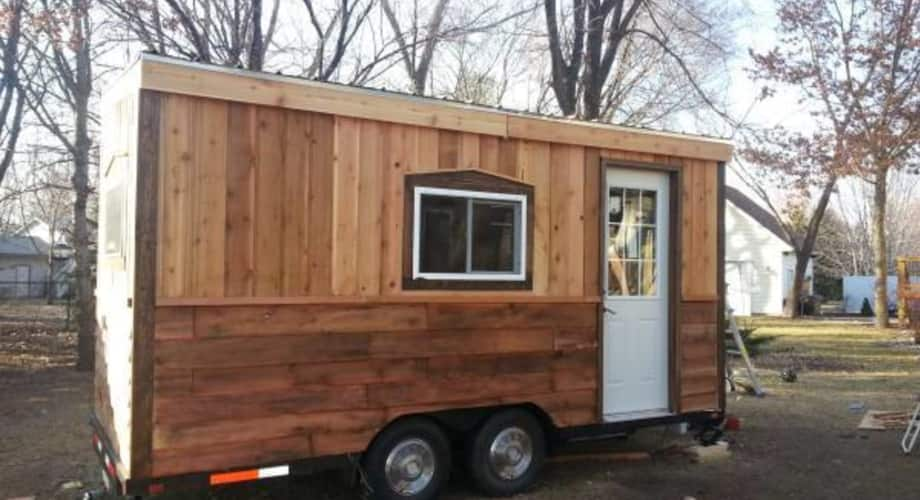 Cozy Tiny House On Wheels Tiny House For Sale In Rapid City South