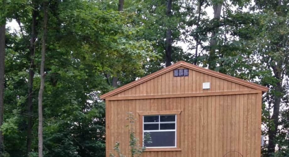 BIG LOVE little cabin 14x40 - Cabin for Sale in Walton, Indiana - Tiny  House Listings