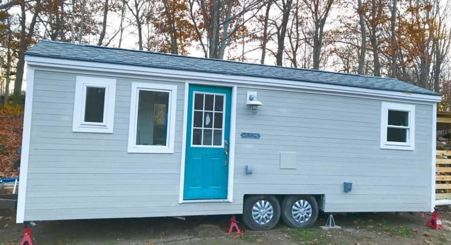 Beautiful tiny house in Maine - Tiny House for Sale in Rockland, Maine -  Tiny House Listings