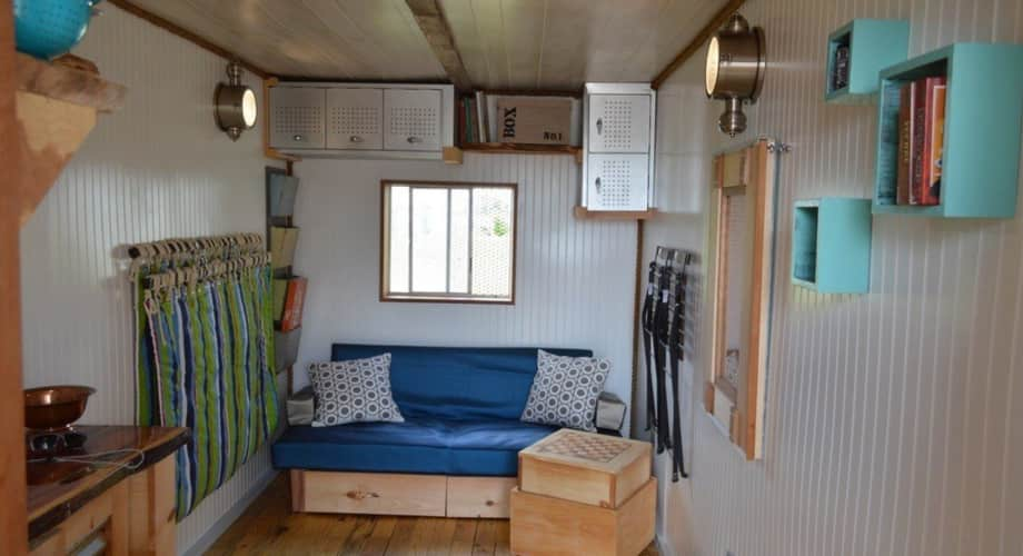 Enjoy The Little Things Custom Shipping Container Tiny Home Tiny