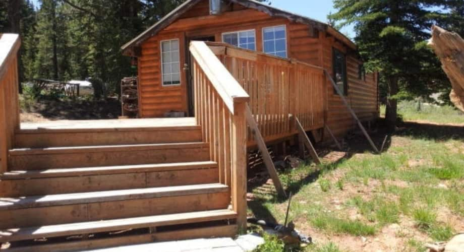 Little Cabin With Land And Mountain Views Tiny House For Sale In