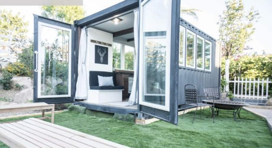 Tiny House Las Vegas >> Container Luxury Living Space Model The Zion Container Home
