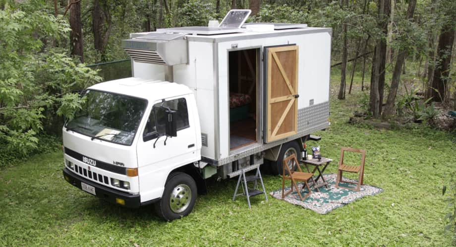 Tiny Home Designs: Rustic Timber Truck Tiny House