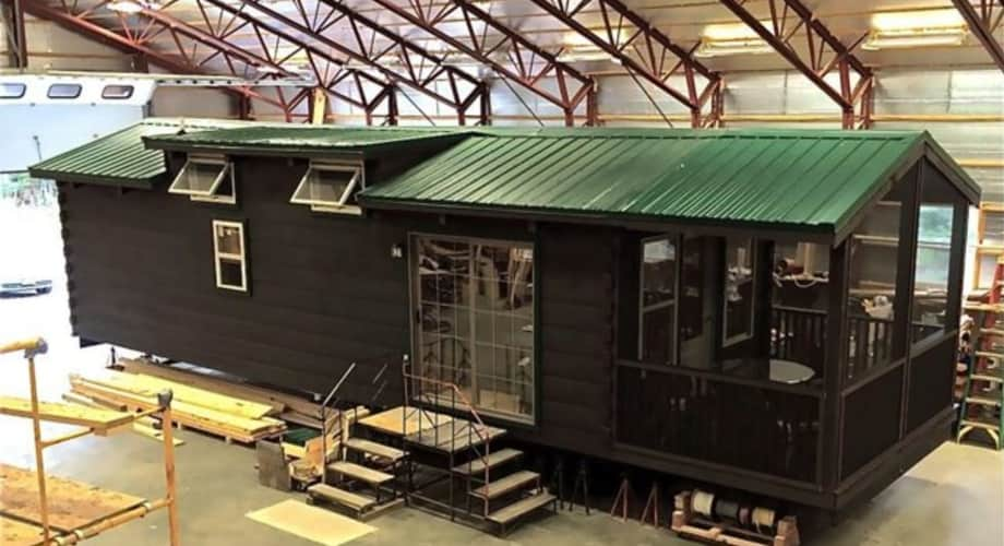 Adirondack White Pine Cabin Tiny House For Sale In