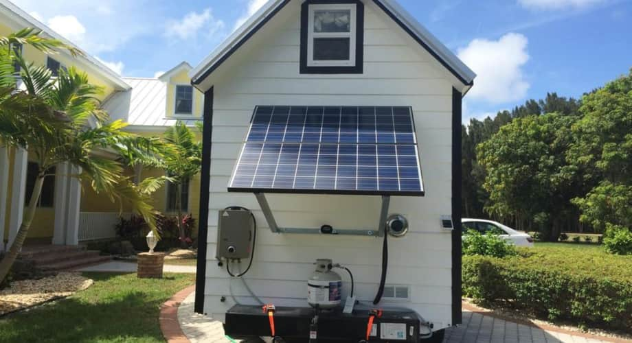 solar powered off grid tiny house tiny house for sale in merritt island florida tiny house. Black Bedroom Furniture Sets. Home Design Ideas