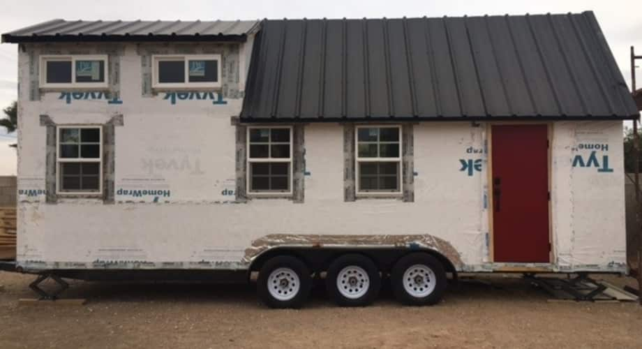 Tiny House Las Vegas >> 26ft Unfinished Tiny House Lowered Price Tiny House For Sale In Las