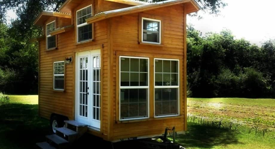 Journey Wilder Tiny House On Wheels Vaulted Ceilings Natural