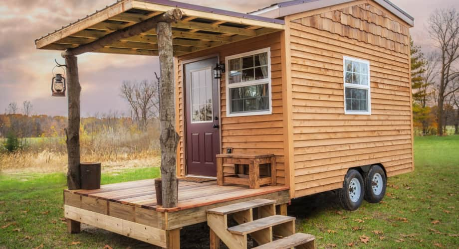 The Petite Cabin Tiny House For Sale In Huntington Indiana Tiny