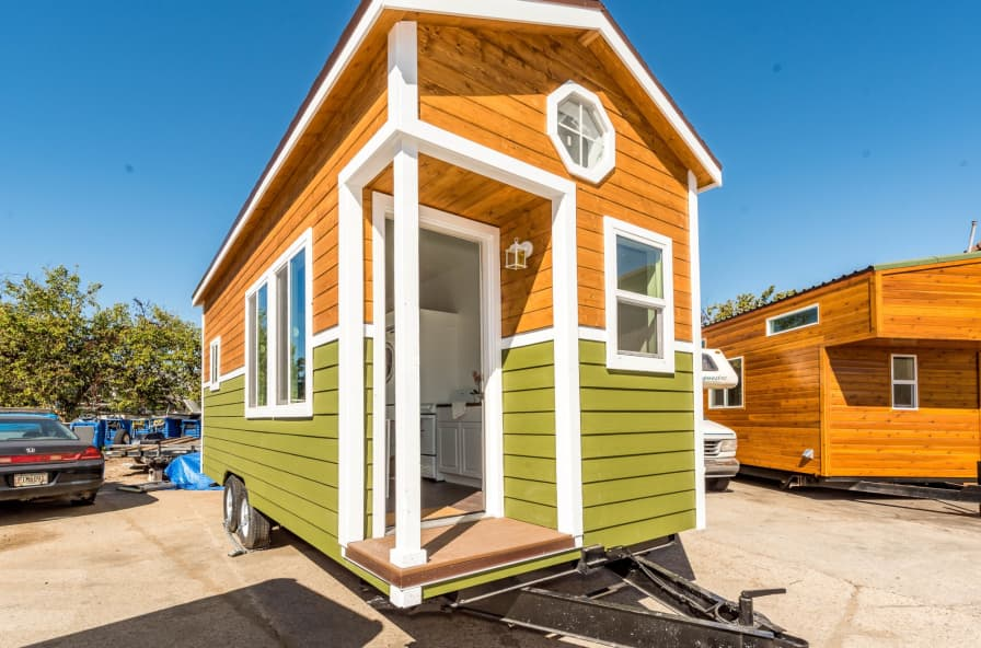 8 5 x 22 Custom Mobile Cottage Tiny House NW BUNGALOW ProfeSsionally built  on trailer w/loft - Tiny House for Sale in SAN DIEGO, California - Tiny