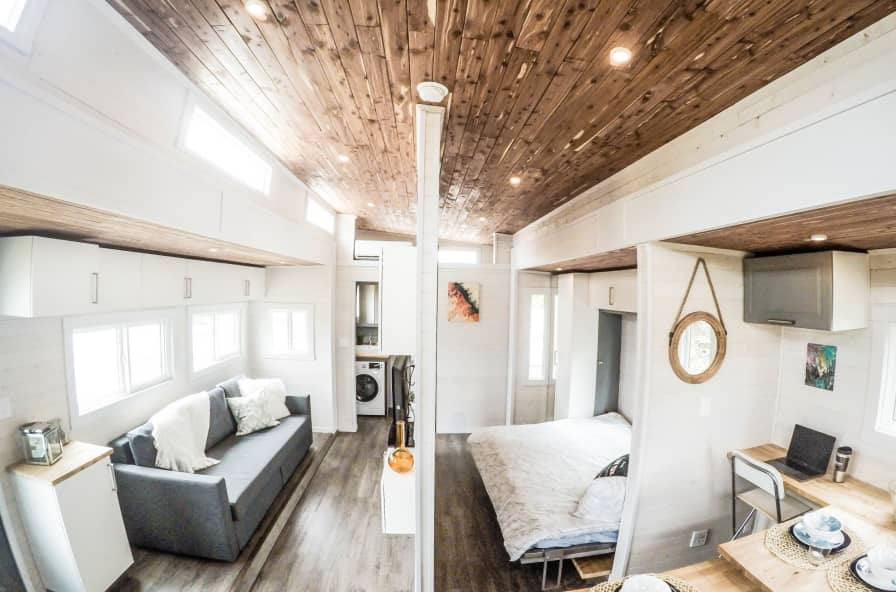 Prime Aurora 374Sqft Main Floor Sleeping Tiny House For Sale In Calgary Alberta Tiny House Listings Download Free Architecture Designs Meptaeticmadebymaigaardcom