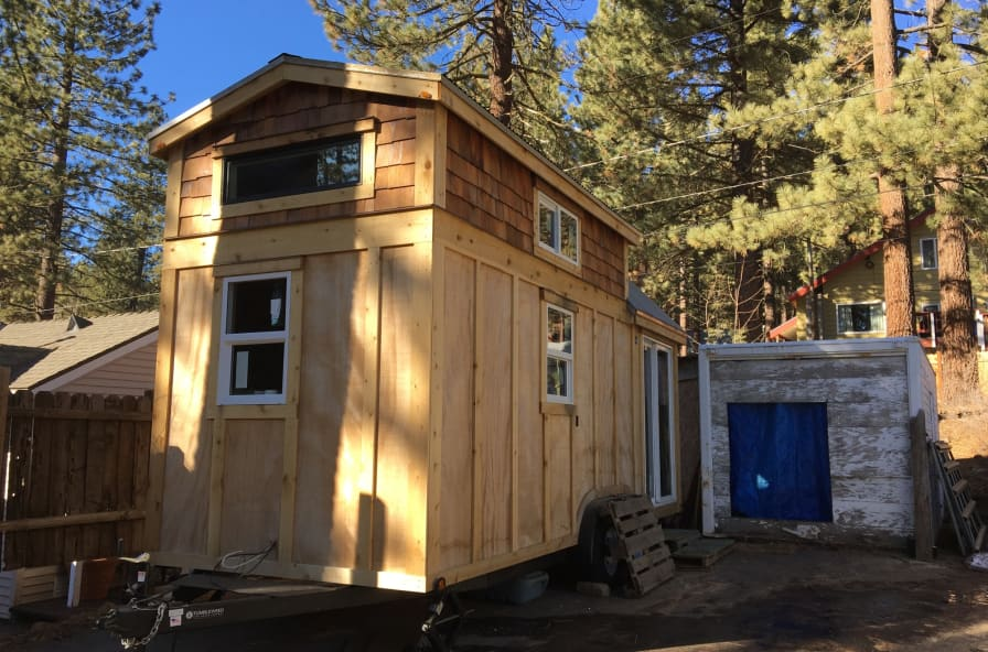 Brand New Tinyhouse for Sierra Summer RENTAL! - Tiny House for Rent in  Truckee, California - Tiny House Listings