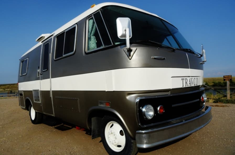 Travel Ready Travco 220 Restored, Renovated, and Modernized - RV for Sale  in Fort Collins, Colorado - Tiny House Listings