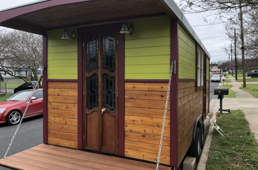 Magnificent Gypsy Wagon Tiny Home Tiny House For Sale In Austin Texas Tiny House Listings Download Free Architecture Designs Barepgrimeyleaguecom