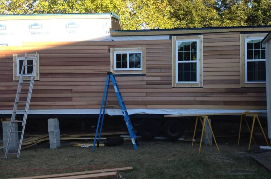30 Ft Tiny House On Wheels - Tiny House for Sale in Fayetteville, North  Carolina - Tiny House Listings