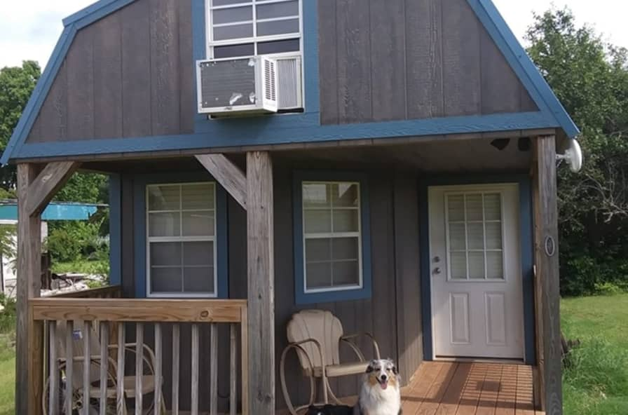 Beautiful 12x36 Deluxe Cabin Cabin For Sale In Mulhall Oklahoma Tiny House Listings