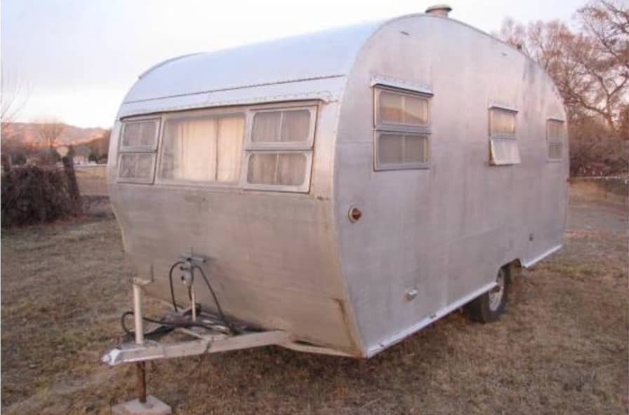 Vintage Boles Travel Trailer - Tiny House for Sale in Florence, Colorado -  Tiny House Listings