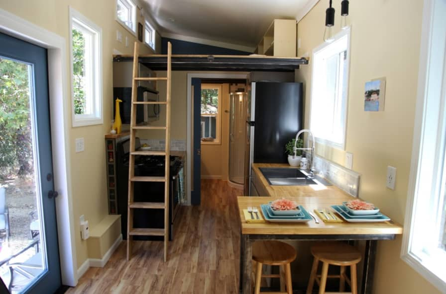 Beautiful Custom Tiny Home - Tiny House for Sale in Redwood City,  California - Tiny House Listings