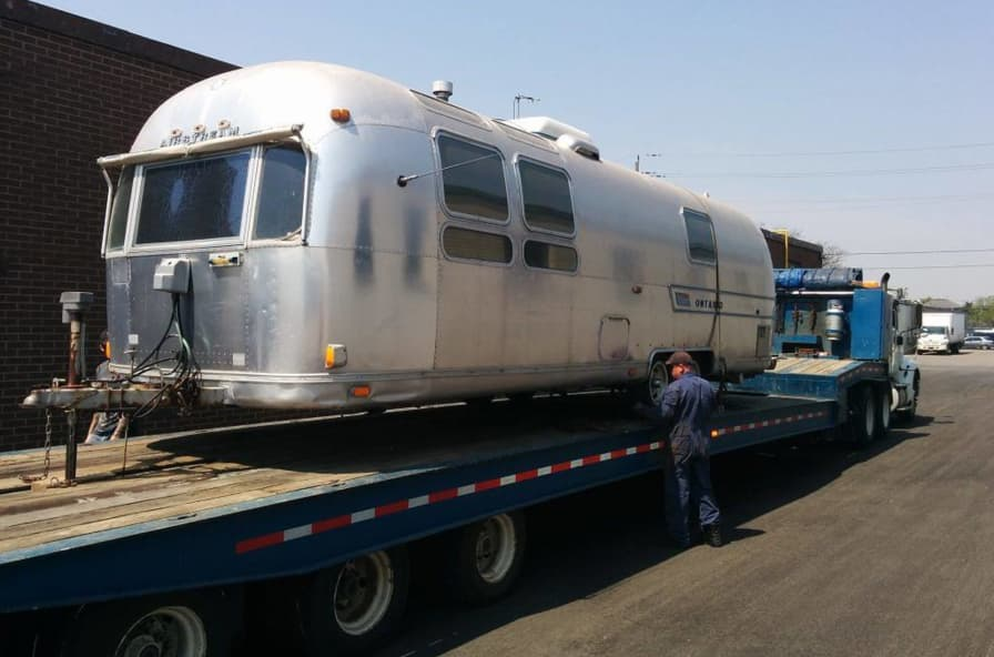1973 airstream sovereign - Tiny House for Sale in Toronto, Ontario - Tiny  House Listings