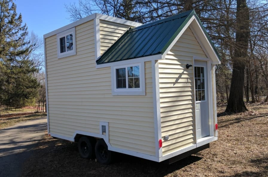 18' Tiny house brand new and ready to go - Tiny House for Sale in Elgin,  Illinois - Tiny House Listings