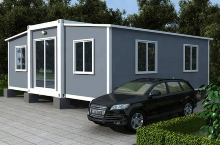 Custom 420sqf Foldable Unit Container Home For Rent In
