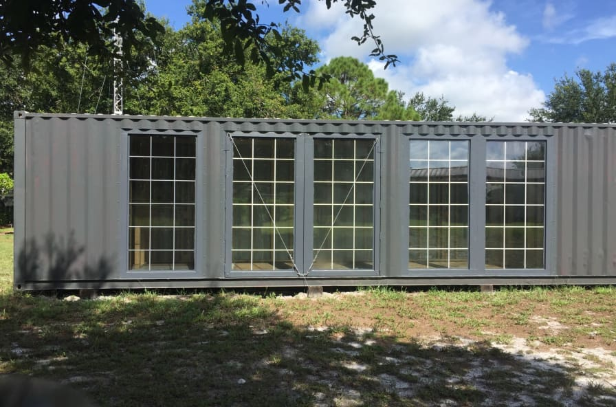 40 Shipping Container >> 40 Shipping Container Home Shell Tiny House Shell For Sale In Bartow Florida Tiny House Listings