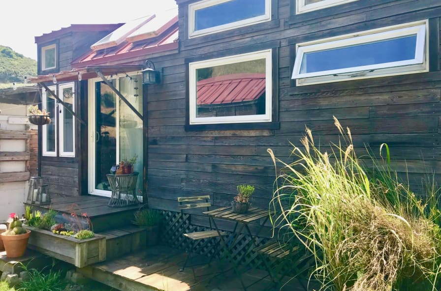 Sensational Rustic Tiny House Comes With Bonus Tiny Shed On Wheels Rental On Current Land Available Tiny House For Sale In Pacifica California Tiny Download Free Architecture Designs Xaembritishbridgeorg