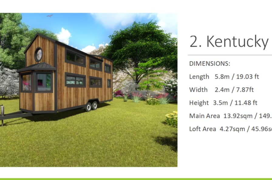 Kentucky 2019 Model - Tiny House for Rent in Mobile, Alabama - Tiny on 1000 sq ft. small homes, 400 sq ft. small homes, tiny key west homes, busses from tiny homes, tiny pueblo homes, mini custom homes, pod homes,