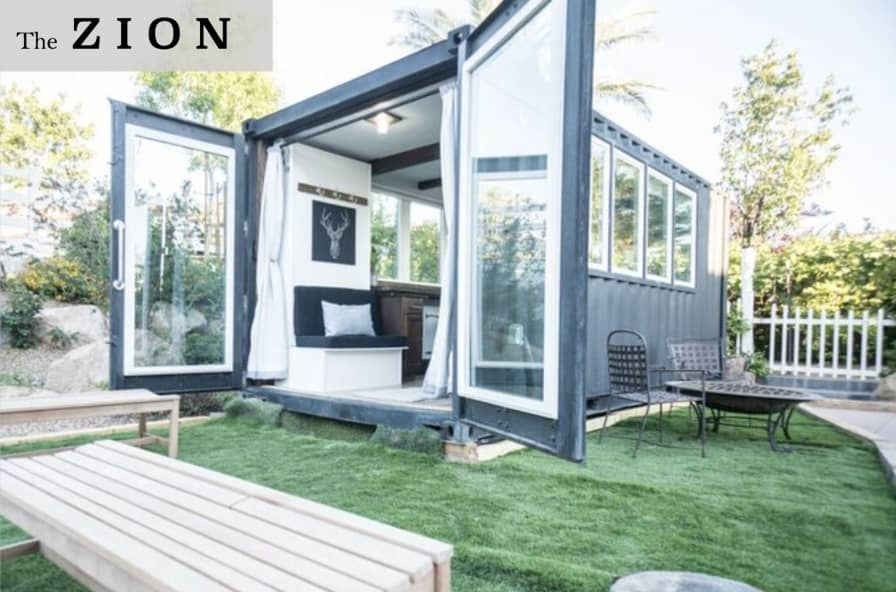 Fine Container Luxury Living Space Model The Zion Container Home For Rent In Las Vegas Nevada Tiny House Listings Home Interior And Landscaping Palasignezvosmurscom