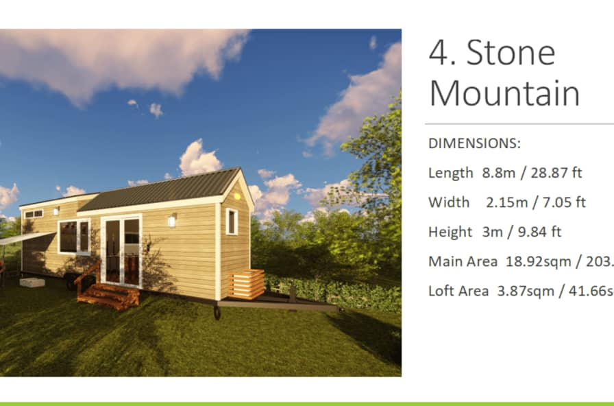 Stone Mountain 2019 Model - Tiny House for Rent in Mobile, Alabama on 1000 sq ft. small homes, 400 sq ft. small homes, tiny key west homes, busses from tiny homes, tiny pueblo homes, mini custom homes, pod homes,