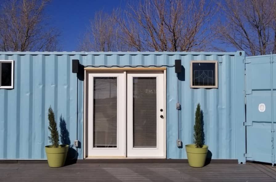 Movable Container Home Fully furnished - Container Home for Sale in Austin,  Texas - Tiny House Listings