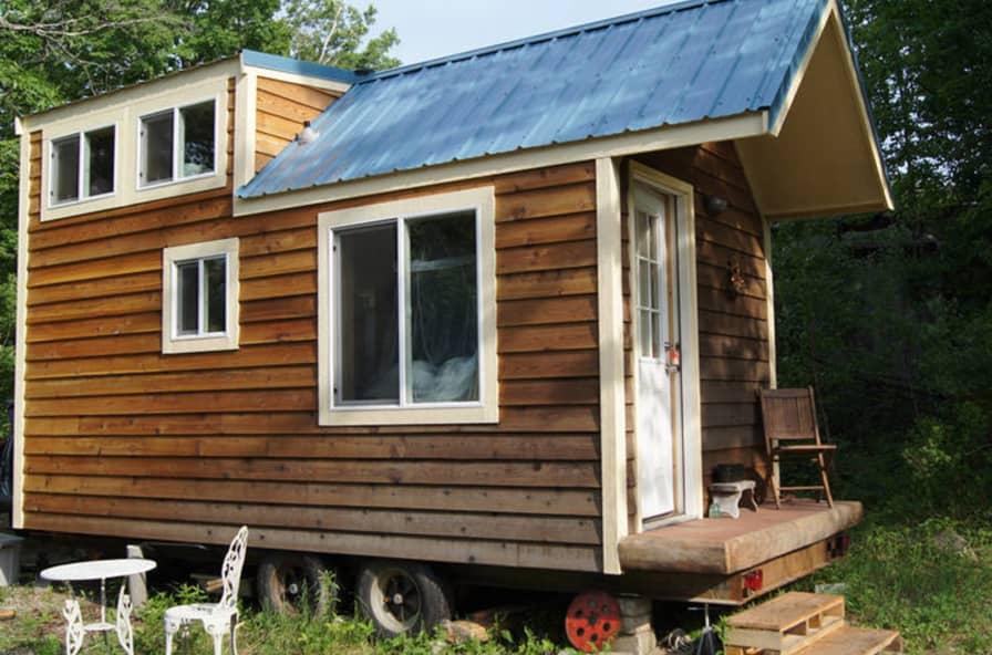 Admirable Tiny Cedar Clad Cabin In Nh Tiny House For Sale In Wakefield New Hampshire Tiny House Listings Home Interior And Landscaping Oversignezvosmurscom