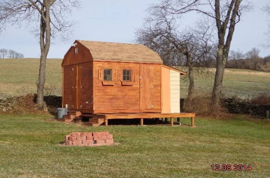 Little Cabin On 14 Acres Tiny House For Sale In