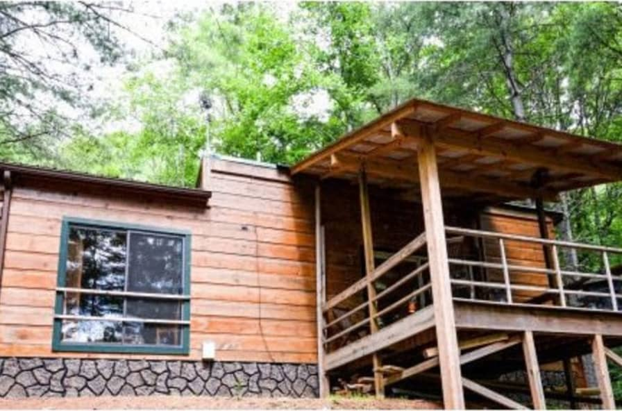 Cool Tiny Cabin On The New River In Western Nc With 3 Acres Tiny House For Sale In Lansing North Carolina Tiny House Listings Download Free Architecture Designs Remcamadebymaigaardcom