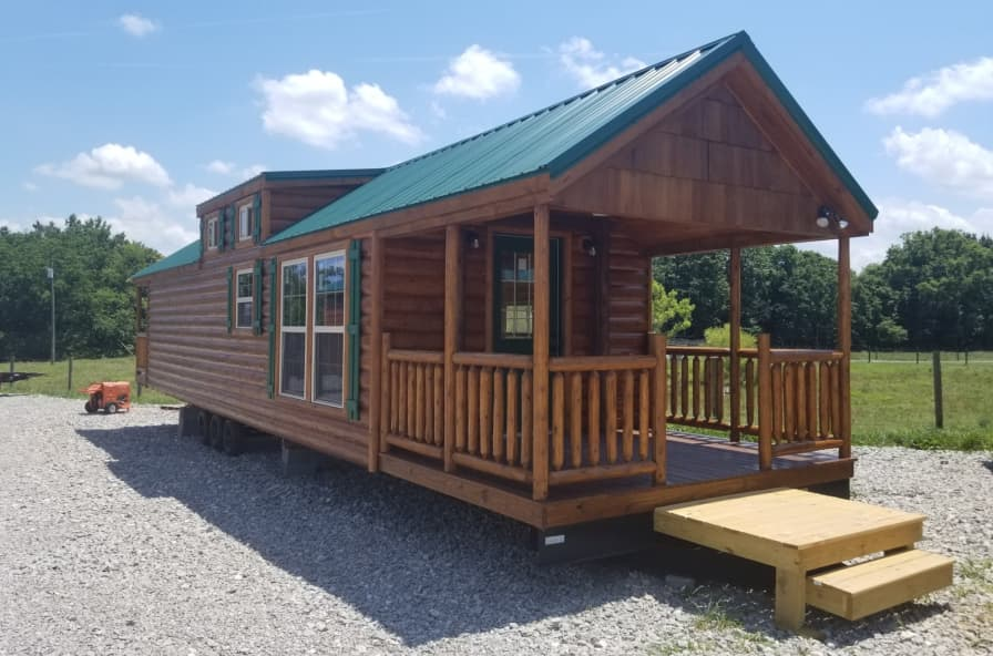Goldenrod Rvia Park Model Cabin Amish Built Park Model For