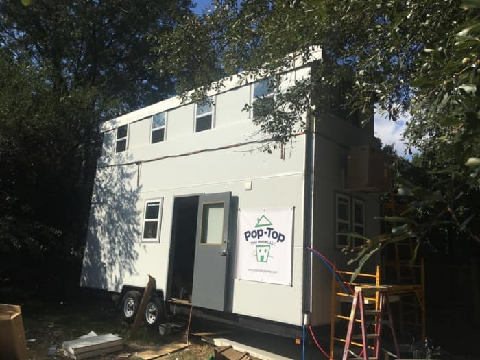 Pop Top Tiny Homes We Build The Only Vertically Expanding Two Story Tiny  Homes On The Market Atlanta, Georgia