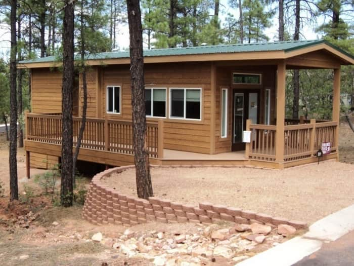 Woodfield Cabin Tiny House For Sale In Show Low Arizona