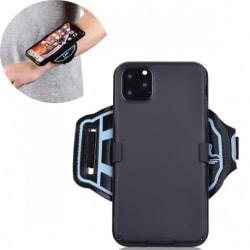 Sportarmband till iPhone 11 Pro - Svart