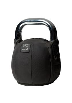 Kettlebell soft 6 kg – Black
