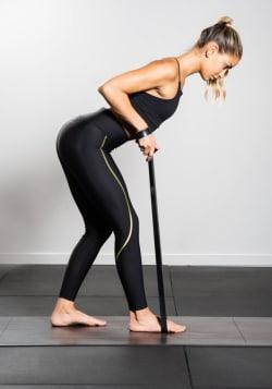 Long rubber band medium – Black
