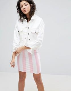 newest c7227 b7d00 So stylen wir weiße Jeansjacken jetzt