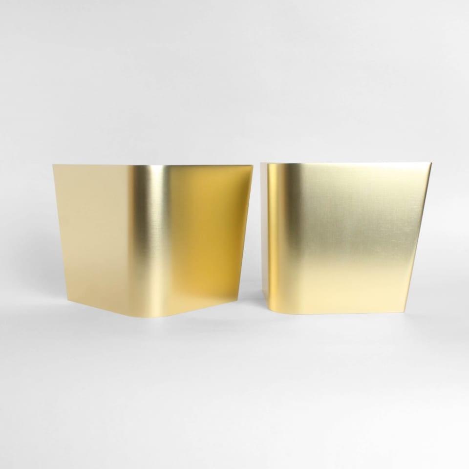 Möbelbein aus Aluminium Theodor 120