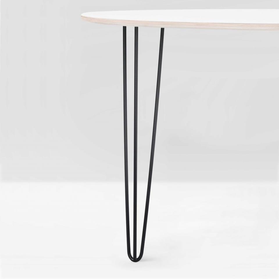 Tischbein aus Stahl: Harald 700