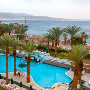 Leonardo Plaza Eilat in Rotes Meer:  Eilat Leonardo Plaza Meerblick